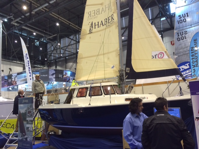 Haber yachts haber at the salon nautique du leman 2015 for Salon nautique geneve